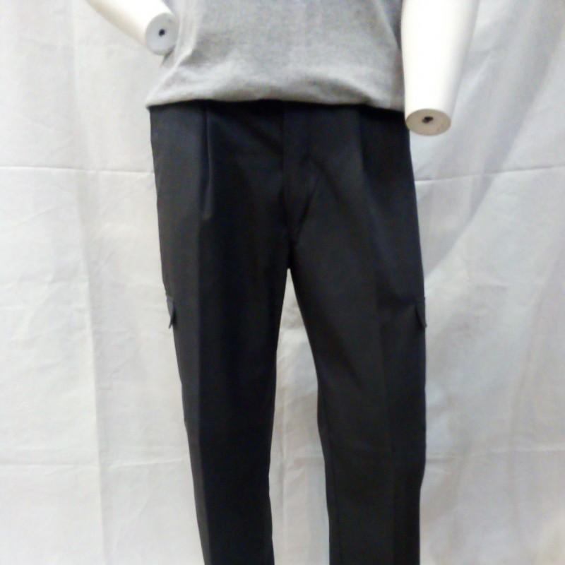 Calça multibolsos 65% poliéster/35% algodão